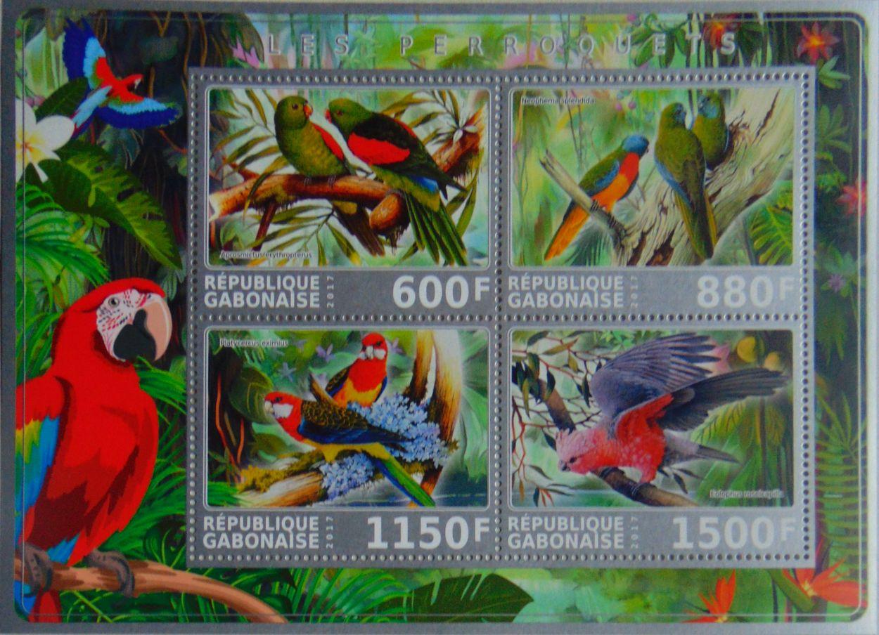 Купить PAPUGI papuga ptaki Gabon NOWOŚĆ (**) #VG2194 на Otpravka - цены и фото - доставка из Польши и стран Европы в Украину.