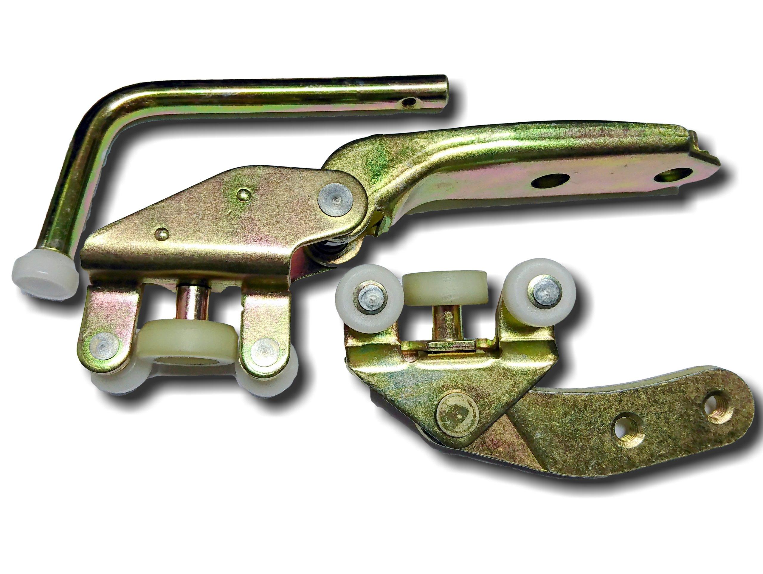 рулон ролики двери коляска vw t4 90-04 компл премиум кр