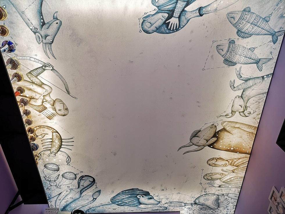 вот, фотобанки с печатью на потолке кольца папы