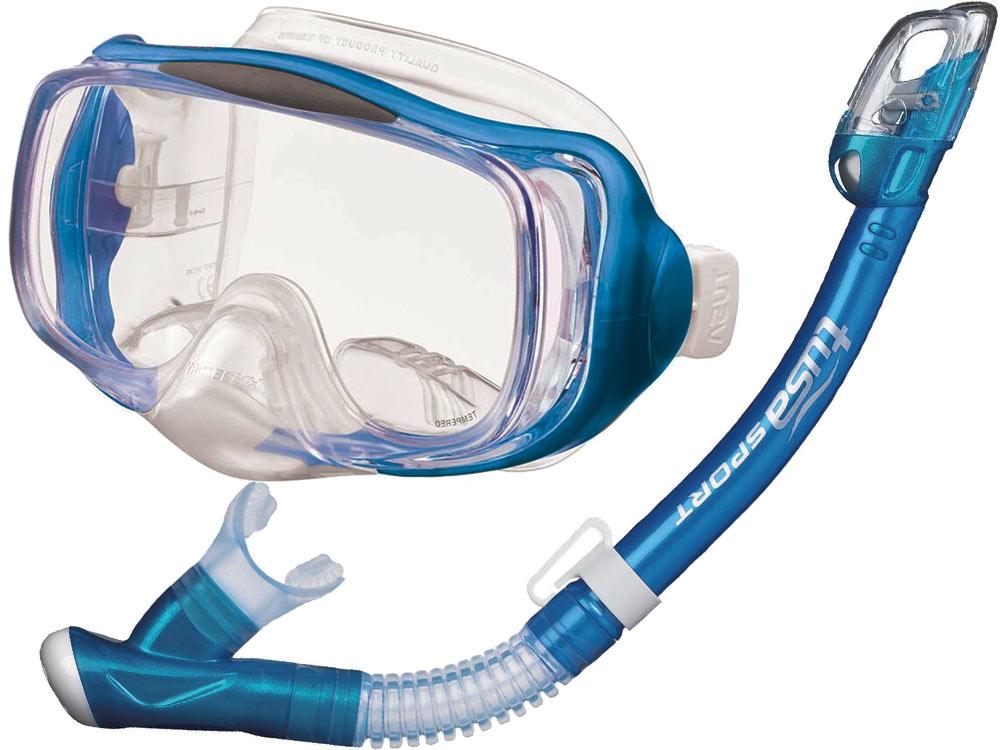TUSA NASTAVIŤ masku+šnorchel IMPREX 3D SUCHÉ UC-3325 FB