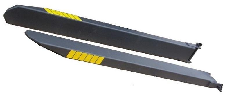 Удлинители вил L- 1600 120x40 / 45 крышки