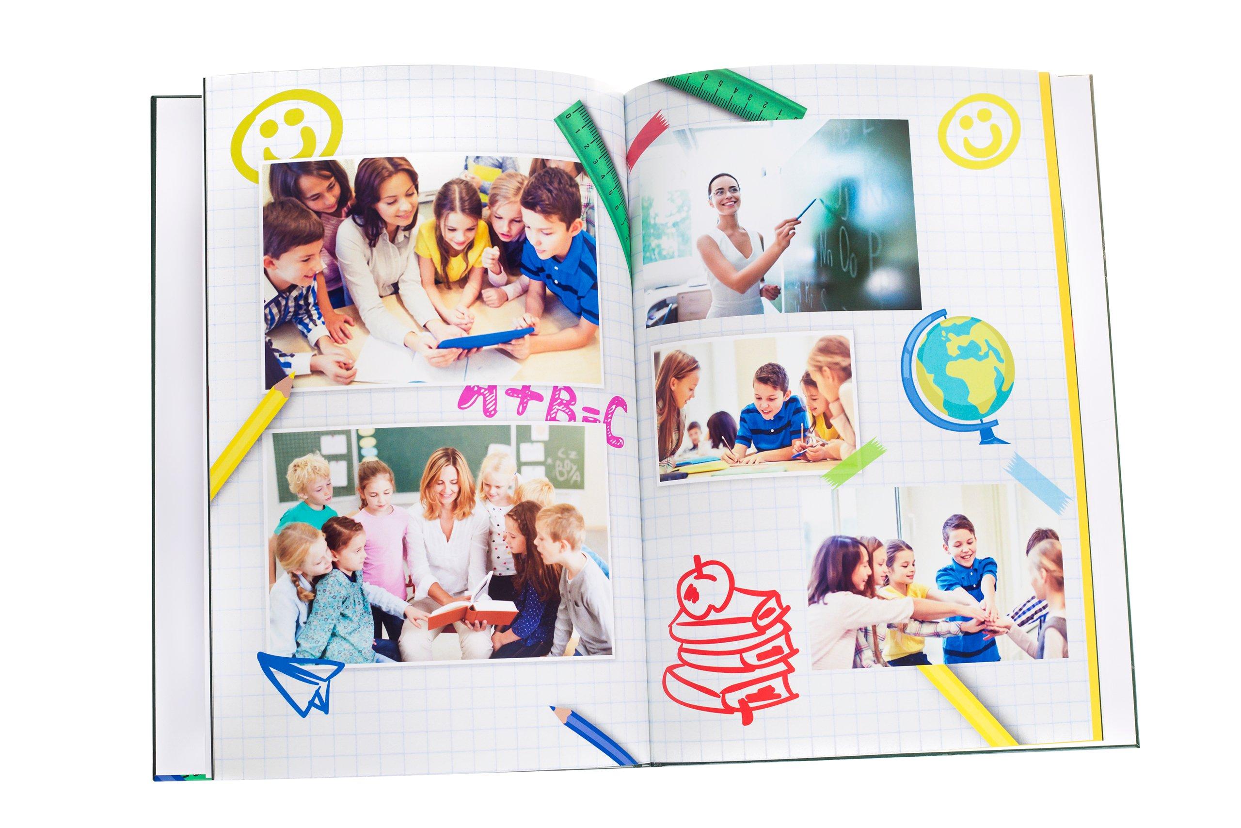 Item Photo book A4 vertical 60str album Hardcover