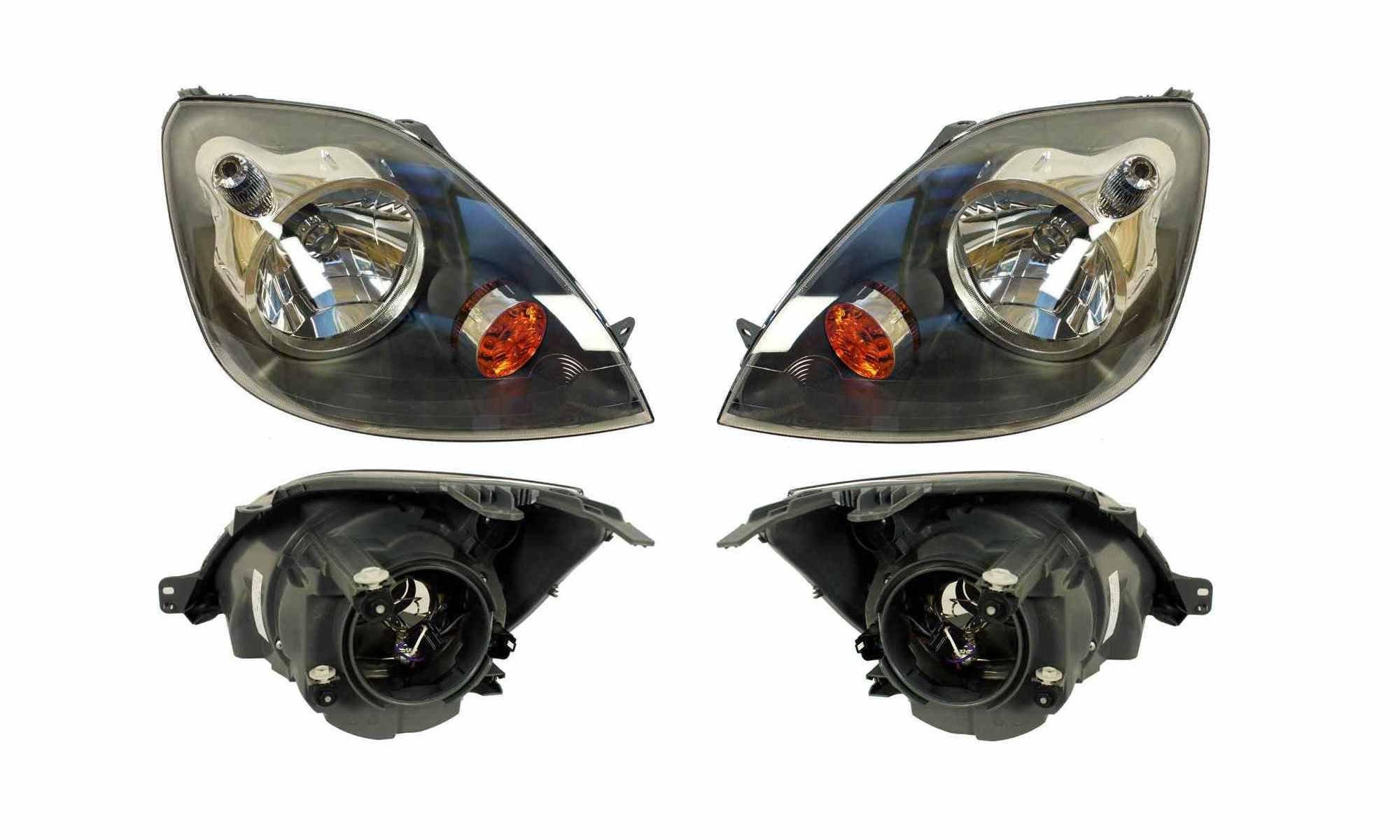 фары лампы ford fiesta mk6 05-08 двигатель 2szt