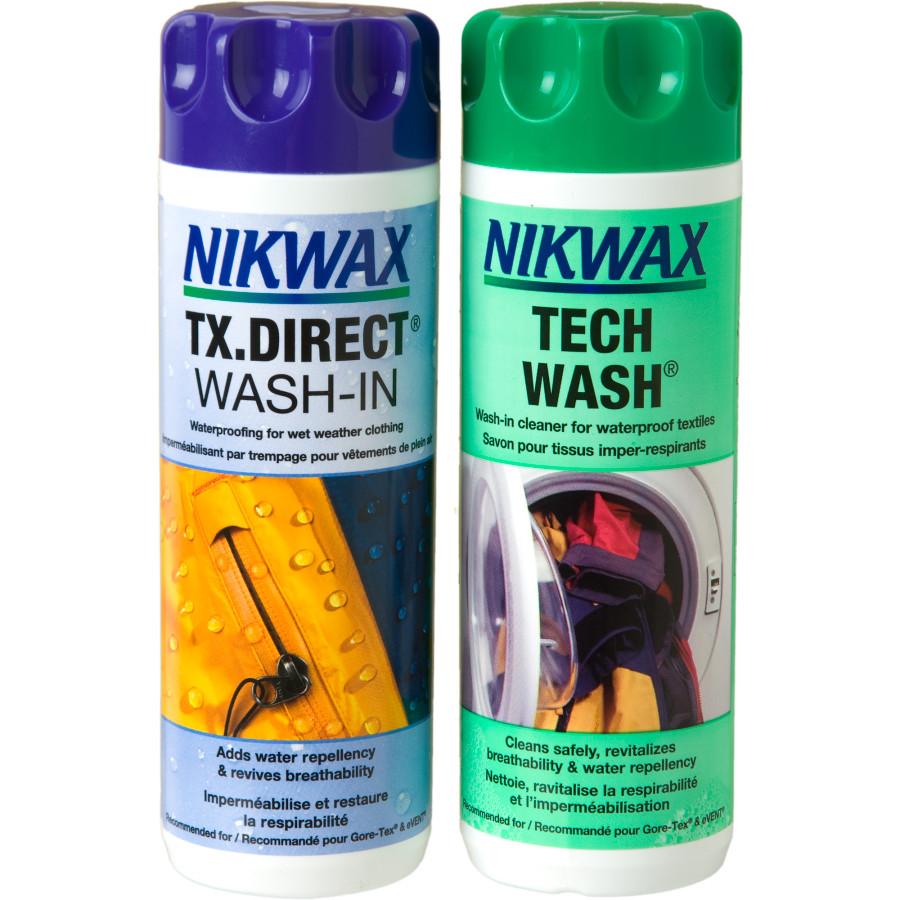 Nikwax Технология мыть 300мл и TX. Прямая стирка в 300мл