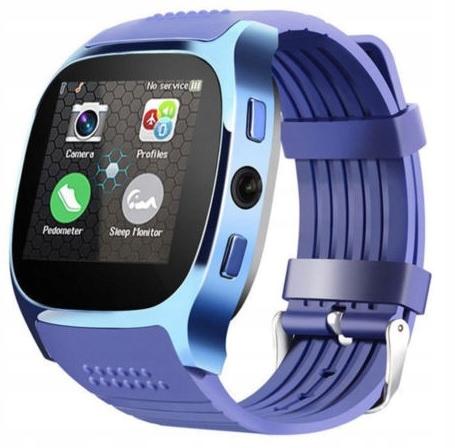 SmartWatch hodinky x8 smart sledovať sim modrá!