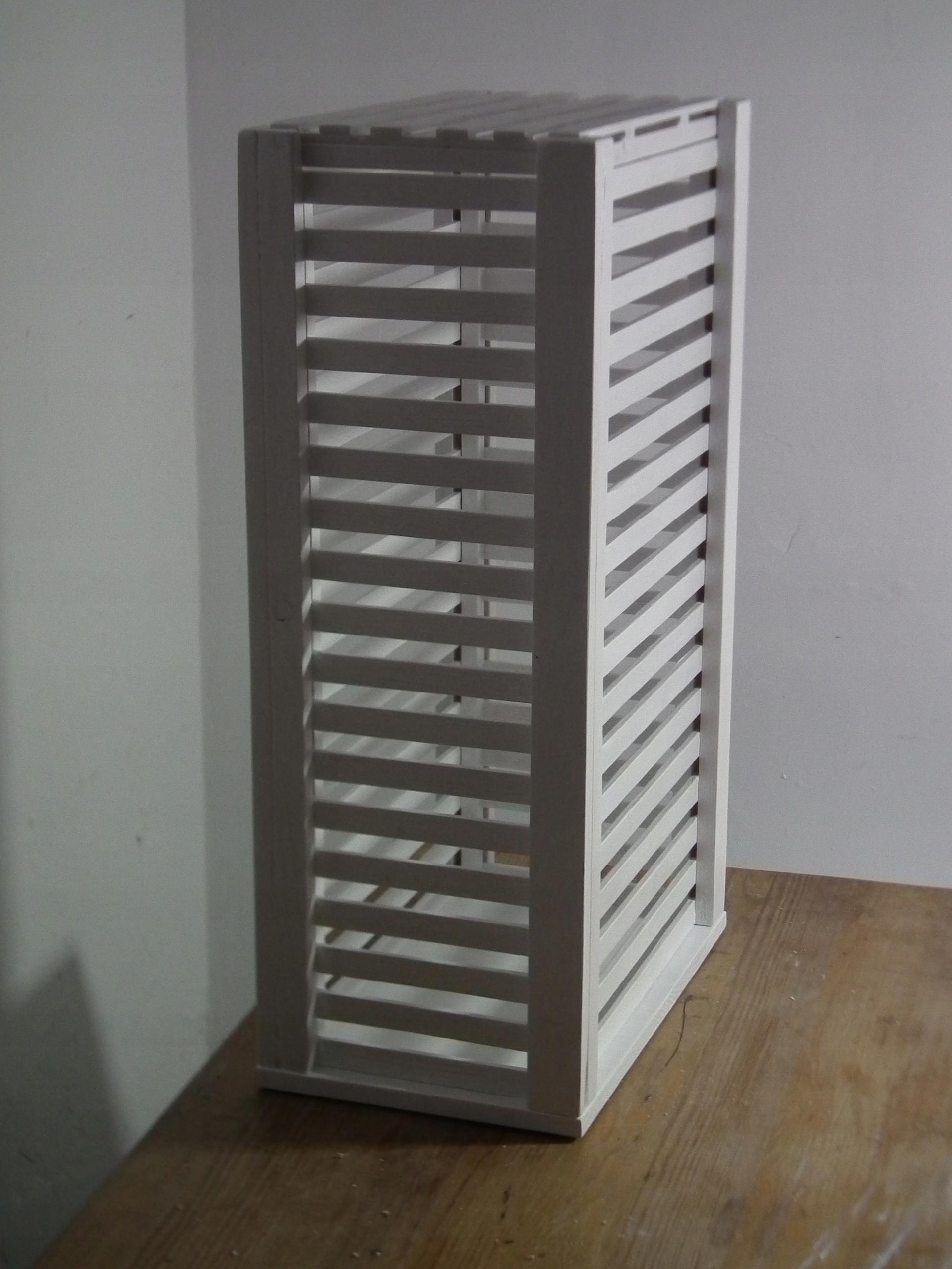 Drevený kôš na prádlo Chiffonier 39x33 h83