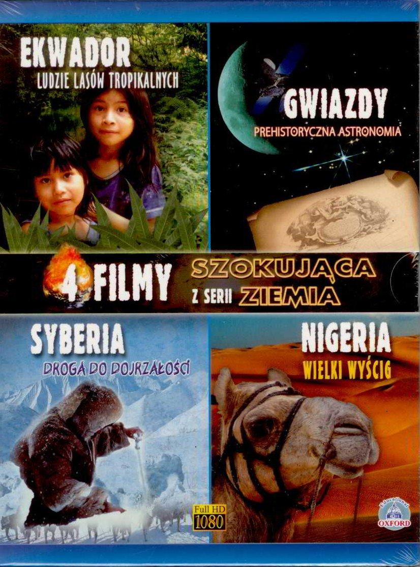 Item SHOCKING EARTH Ecuador Siberia Nigeria Stars