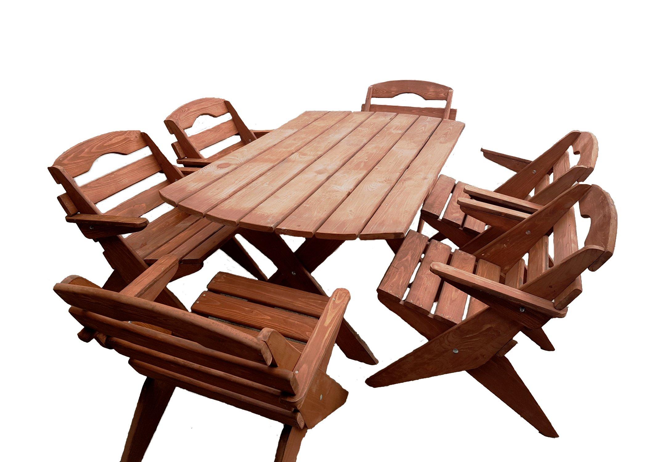 Promocja Składane Meble Ogrodowe Drewniane