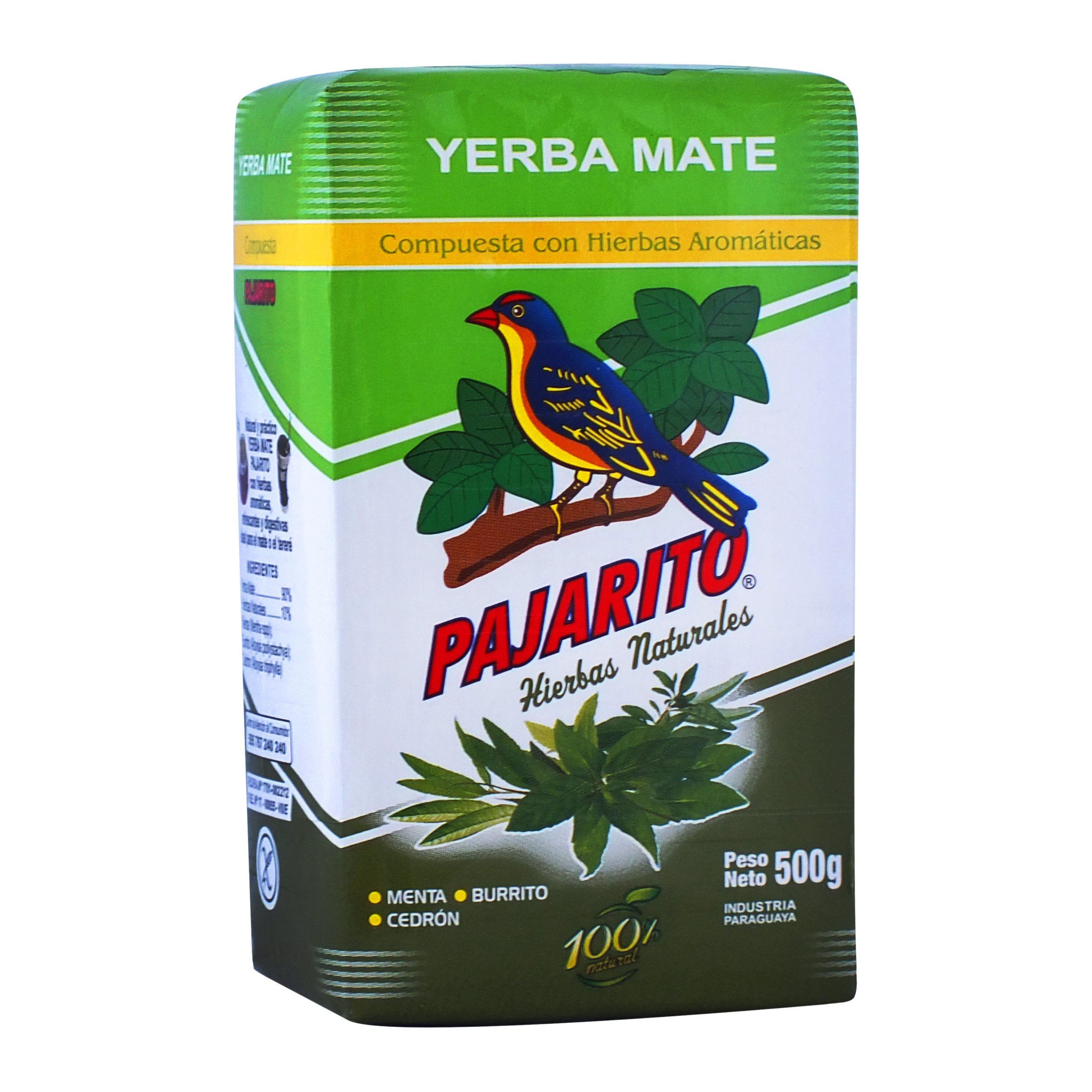 Yerba Mate Pajarito Compuesta Hierbas Ноль ,5 кг 500?