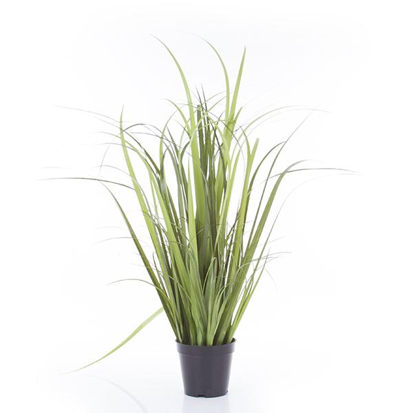 umelá TRÁVA 76 cm zelená zasadiť bylinky