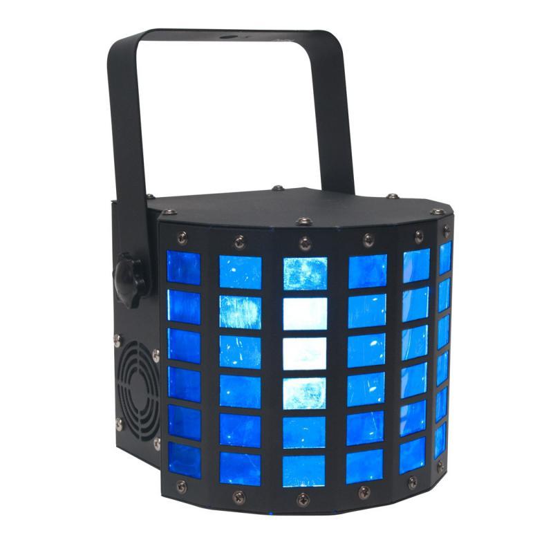 Mini Dekker LED 2x10W QUAD RGBW - NOVÉ! + Strobo