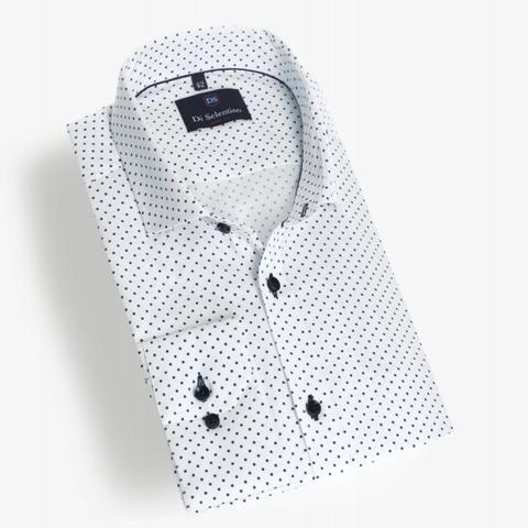 Koszula Męska Nadruk Różne Rozmiary Do Pracy ML 7718492154  JNzS7