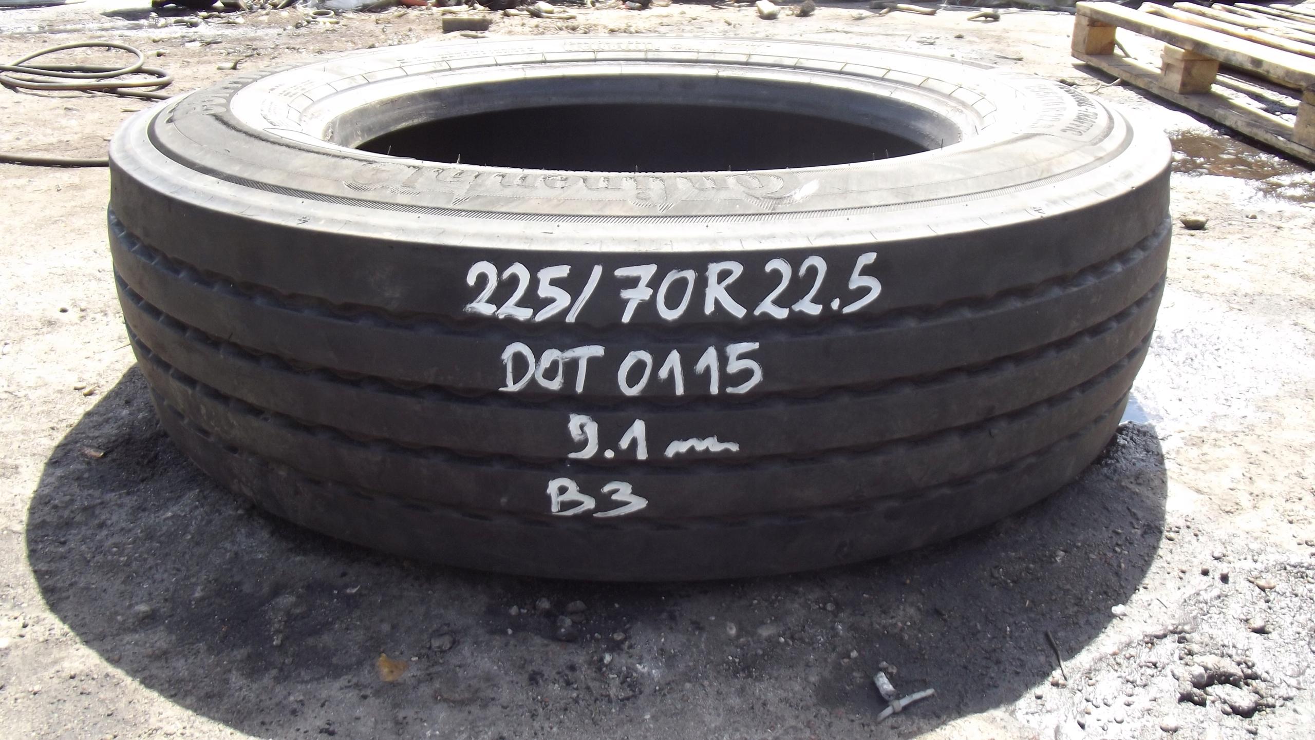 Pneumatika 255/70R22.5 Continental SA HSR2