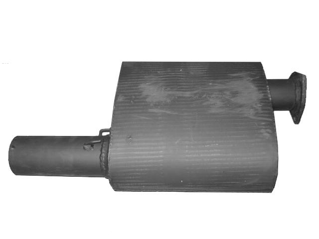 Глушитель выхлопных газов JCB 3CX 4CX 331/35697