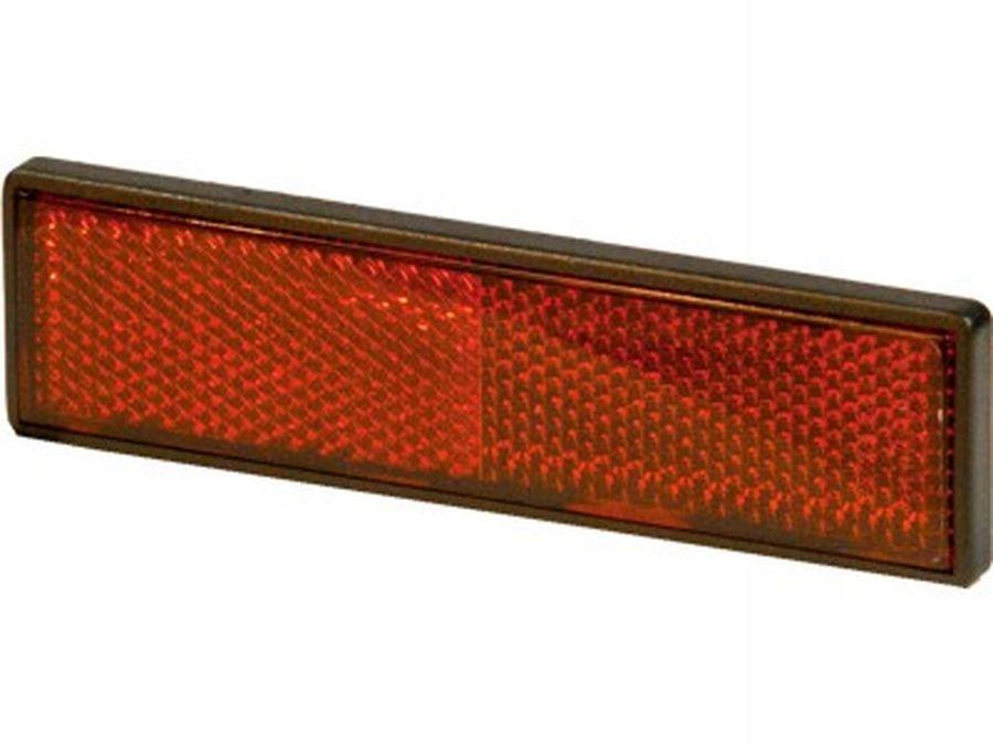 отблеск прямоугольный красный eu 122 x32 5mm