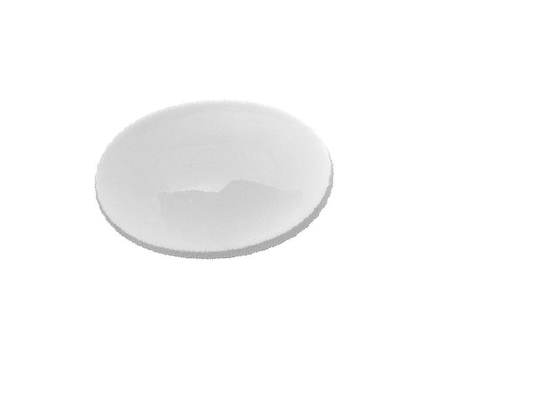 Kaboszon szklany baza 18x13 mm 2 szt KA2201