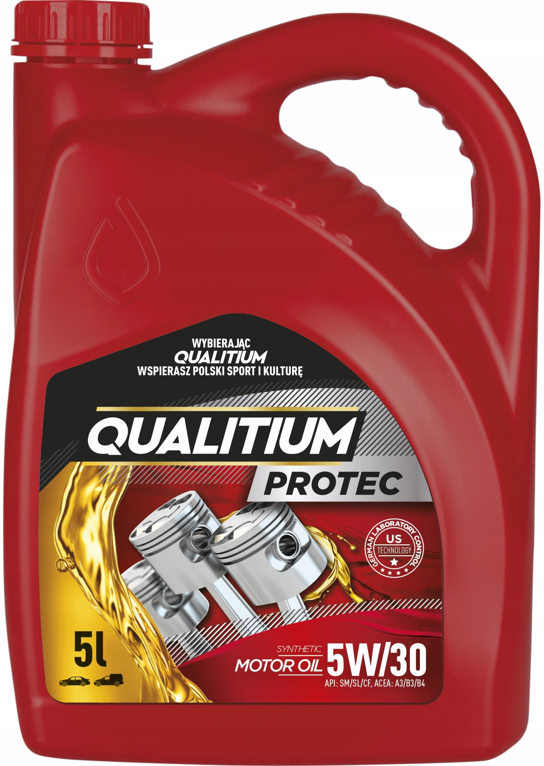 Синтетическое масло QUALITIUM PROTEC 5W30 5L