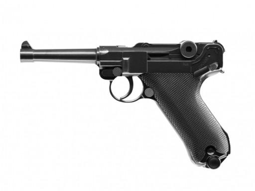 Zbraň UMAREX Legendy P. 08 P08 4.5 mm co2+zlomok+t