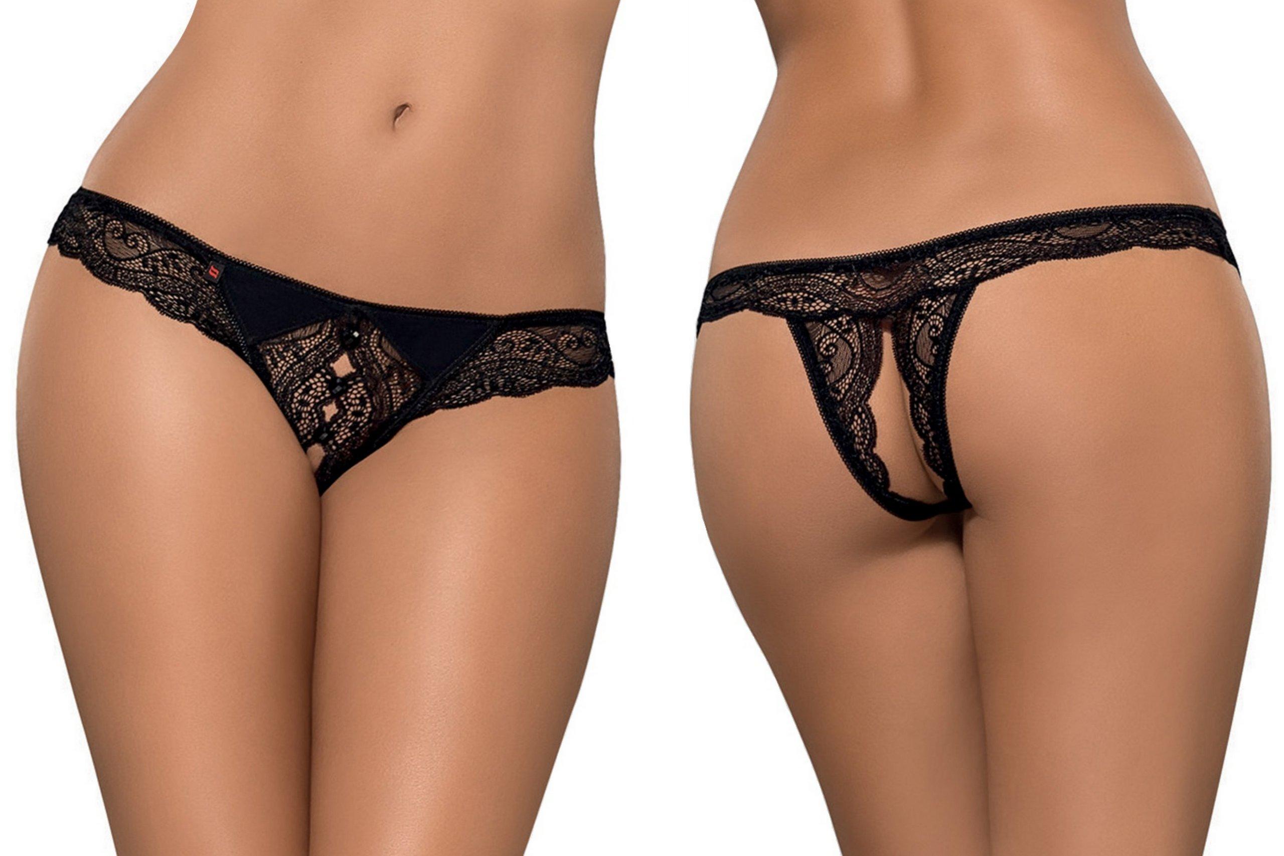 324dc63809e20e Obsessive Miamor Otwarte Stringi S/M Sexy Majtki! 6952303550 - Allegro.pl