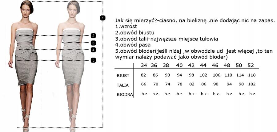 CAMILL 164 czarna sukienka z rękawem 44 24H