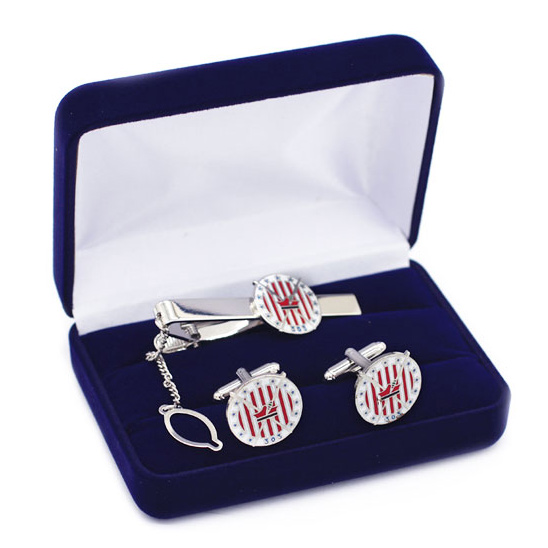 Squadron 303 manžetové gombíky a kravaty + puzdro