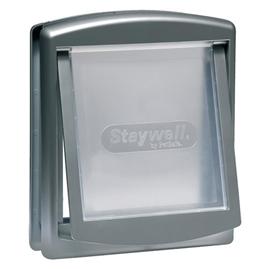 Staywell Dvere Dvere pre mačku pre 7kg Silver
