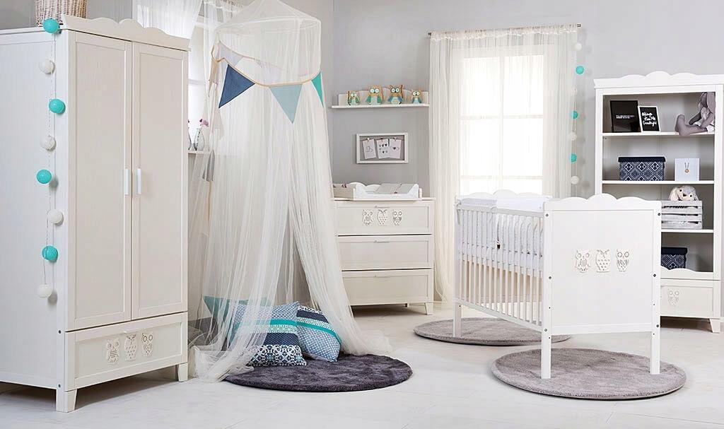KLUPŚ MARSELL White Детская мебель ZESTAW Mebli