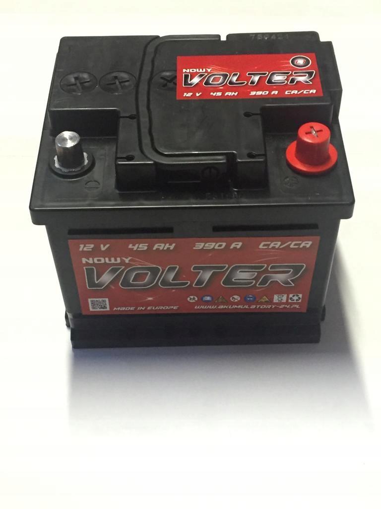 аккумулятор volter 45ah 44ah 45ah варшава бренд