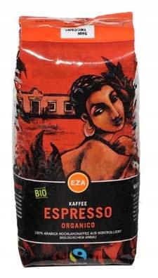 Organico espresso káva 1 kg granúl Bio/Fairtrade