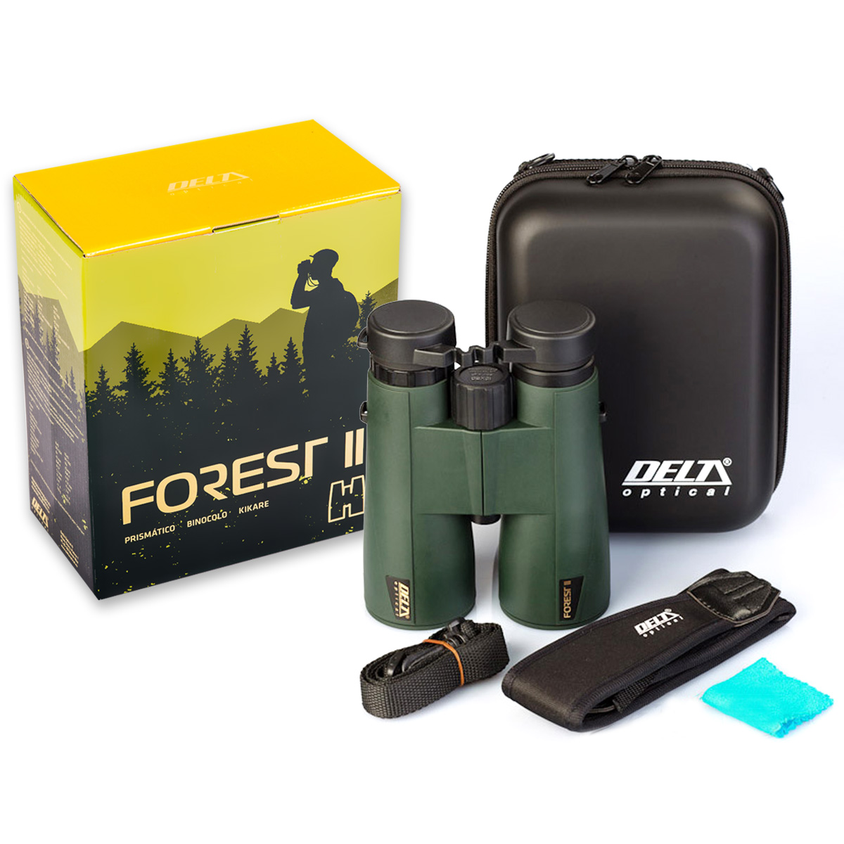 Binoculars Delta Optical Forest II 8x42 Vodotesný