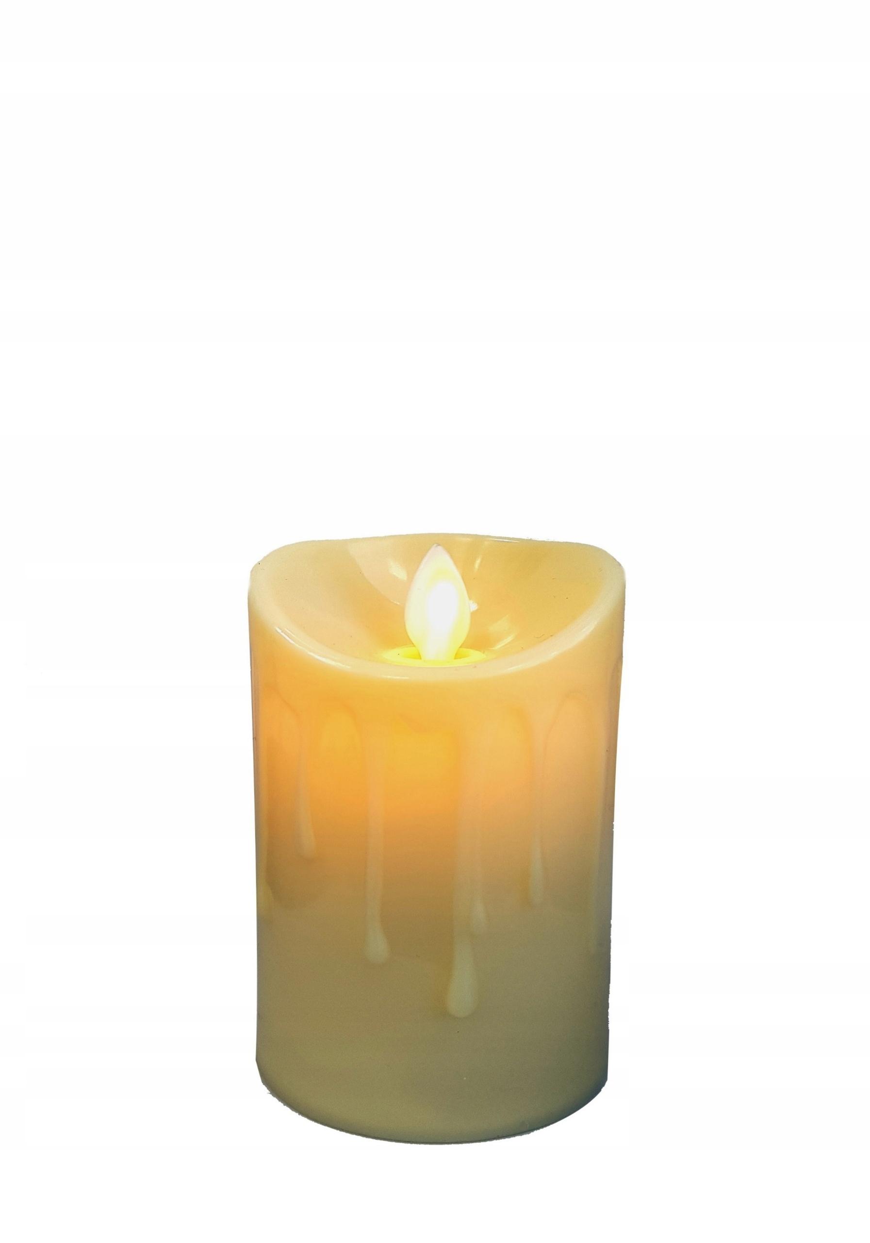 Świeca LED 8 cm Ruchomy płomień wkład dekoracja