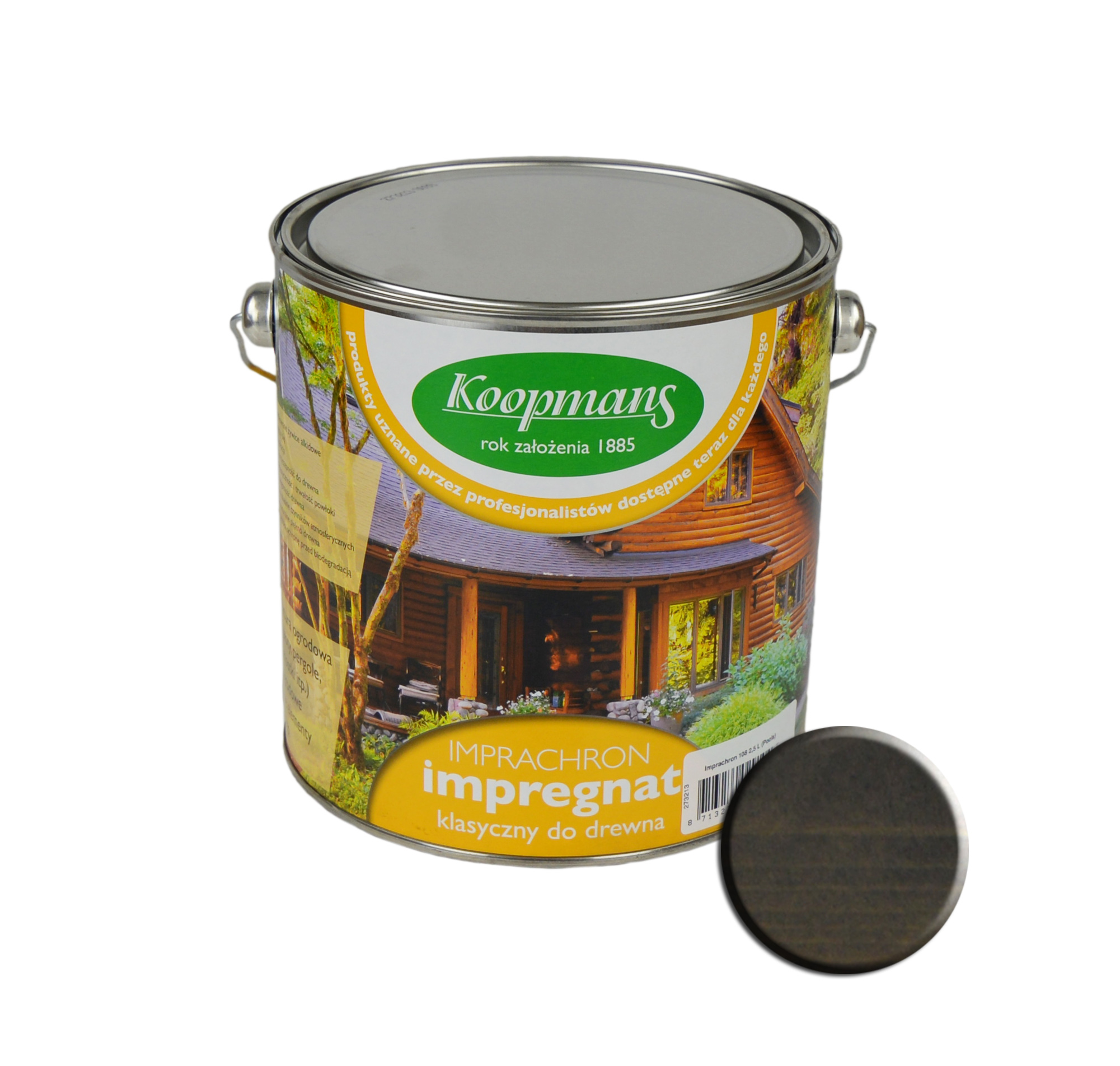 Пропитка Koopmans 229 2,5 Л - графит сибирский