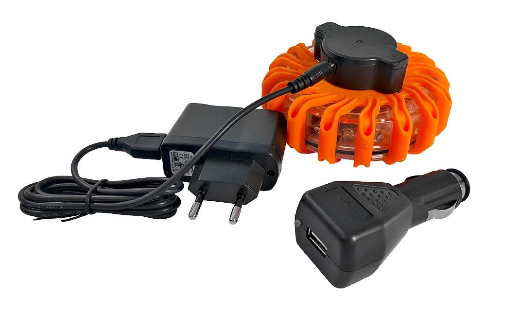 лампа предупреждения led вспышка аккумулятор петух