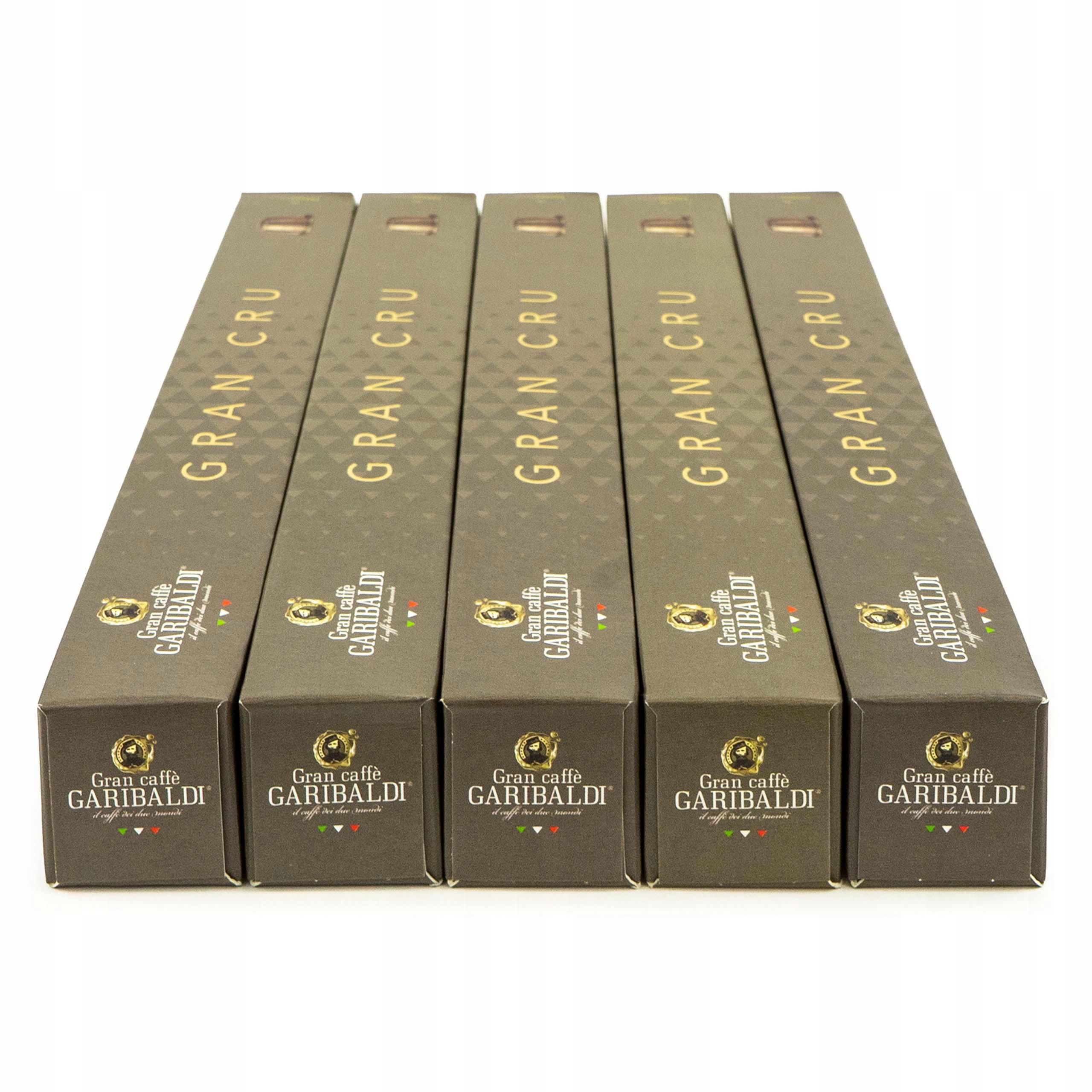 Kapsule Nespresso pre Arabica Garibaldi Taliansko 50sz