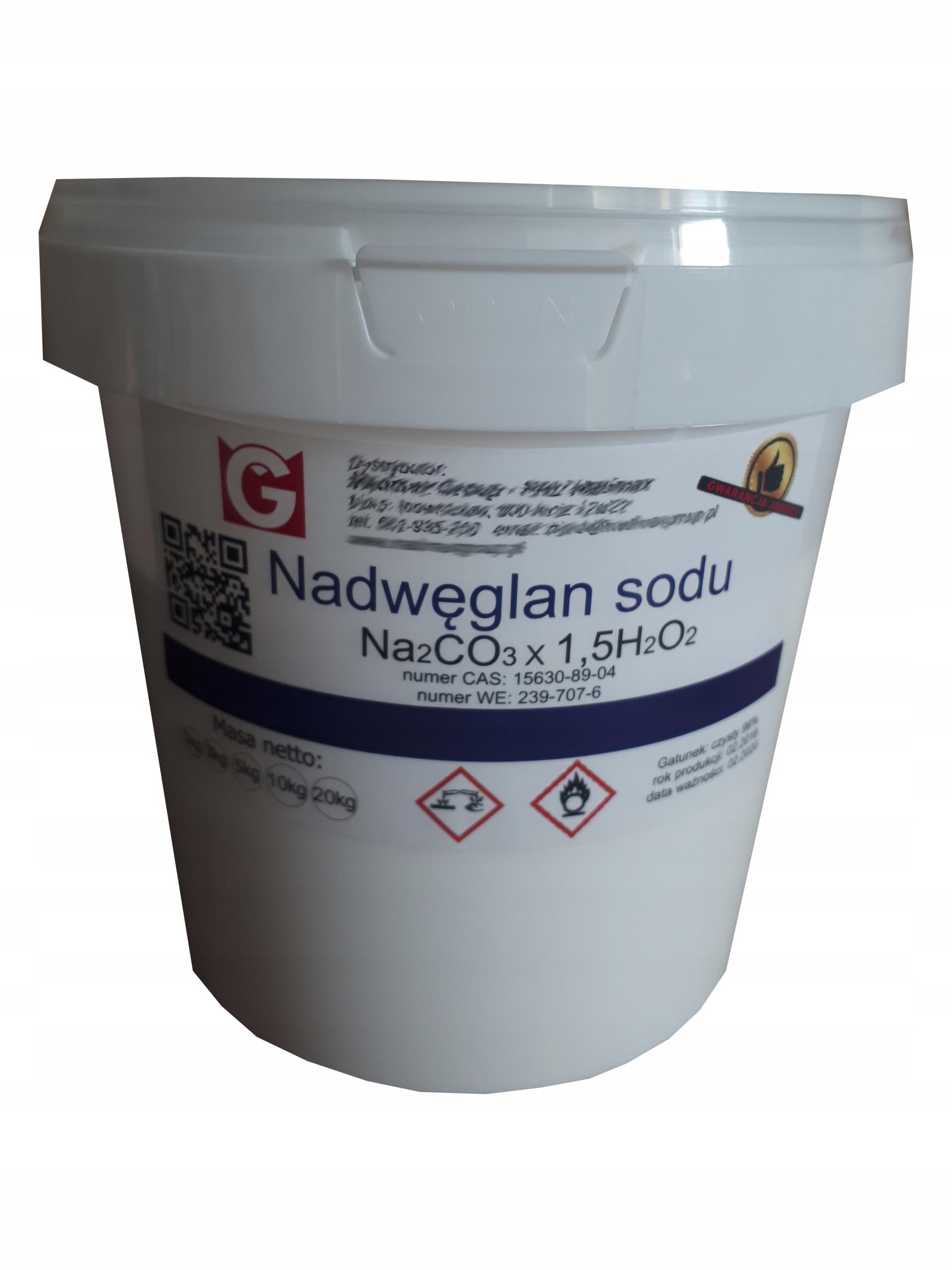 NADWĘGLAN SODU aktywny tlen pranie czyszczenie 5kg