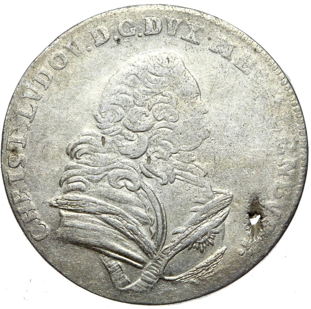 + Meklenburg Schwerin - 8 GUT GROSCHEN 1754