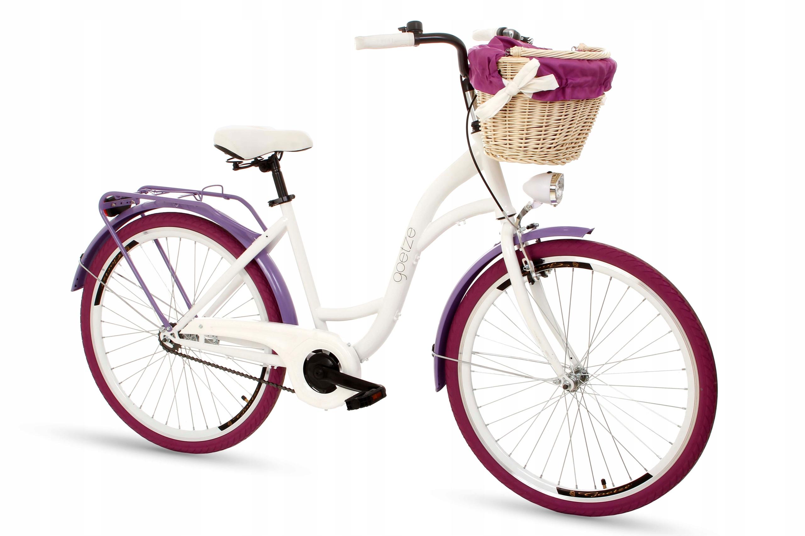 Dámsky mestský bicykel Goetze COLORS 26 košík!  Značka Goetze