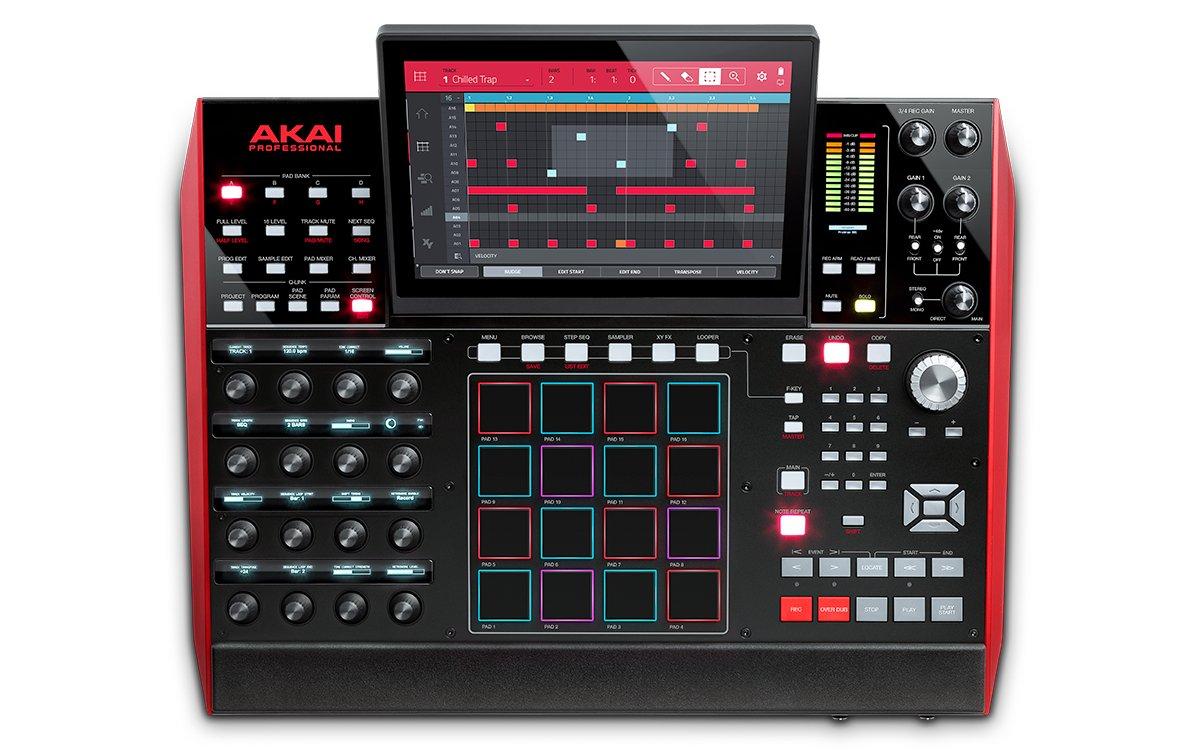 AKAI MPC X Sampler Groovebox Workstation