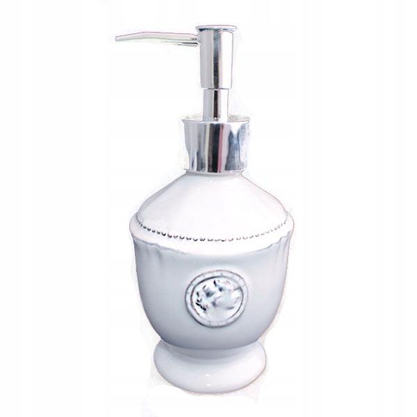 Kvapalná nádoba, mydlo na kuchyňu Kúpeľňa biela