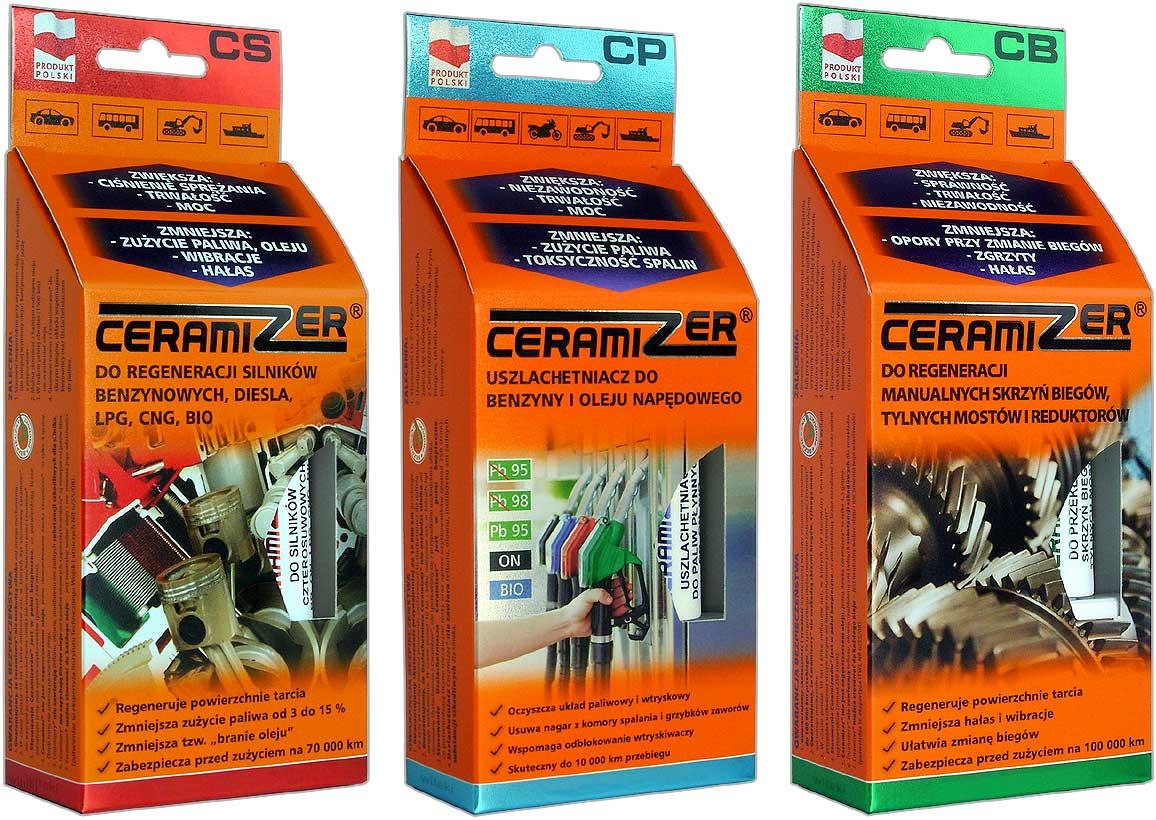 CERAMIZER Двигатель+Коробка+Топливо +Доставка 0zł +4xP
