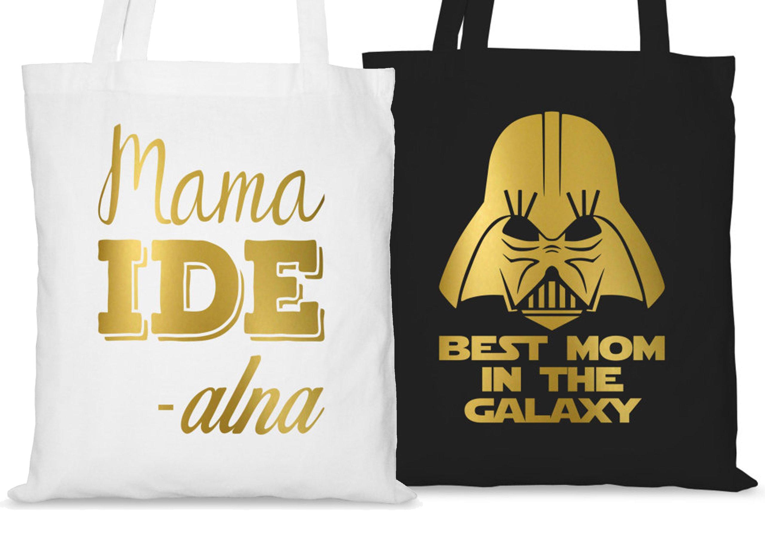 Torba Ze Złotym Nadrukiem Na Dzień Matki Dla Mamy
