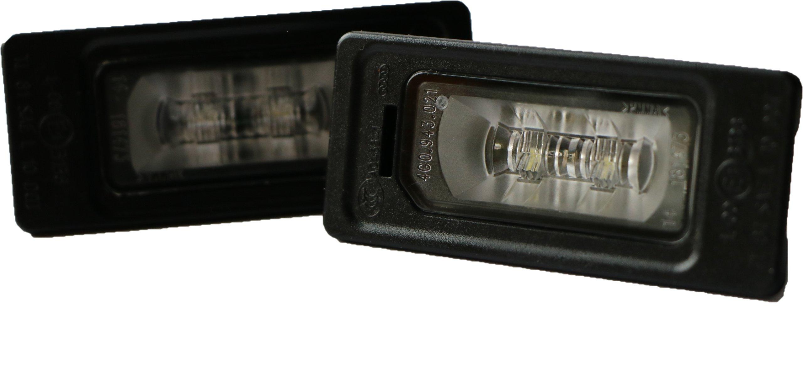 лампы led подсветка audi a3 8v a4 b8 a5 q3 q5