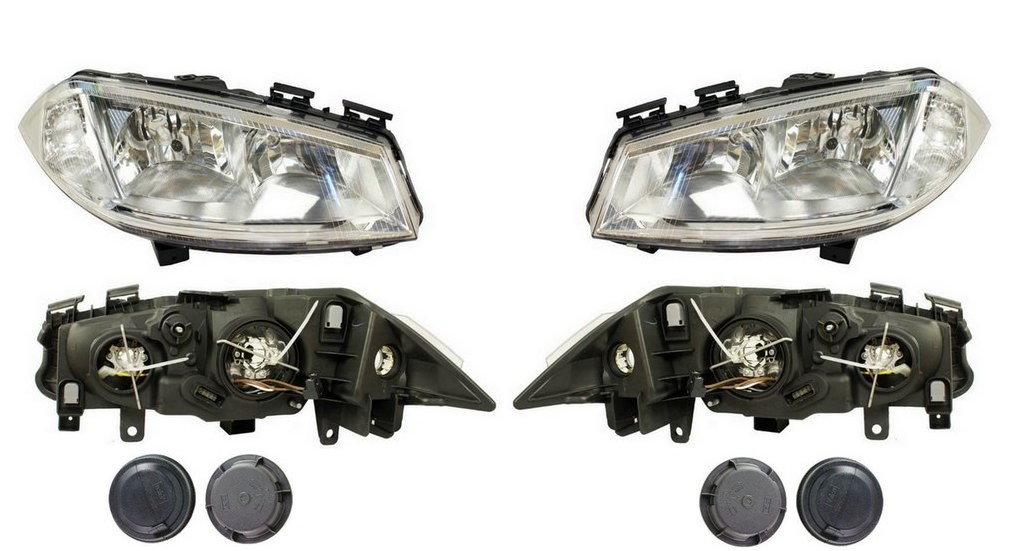 фары лампы renault megane 2 ii 02-05 depo x2