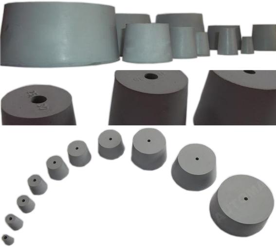 Rúrkové zátky, plynové zátky, 11-105 mm