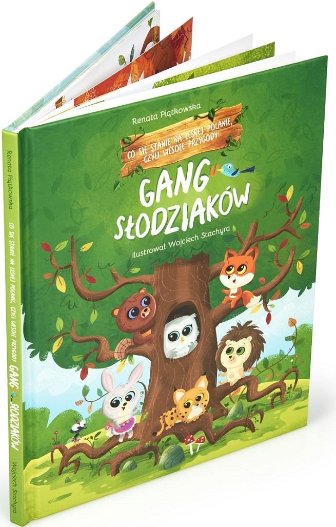 Ksiazka Gang Slodziakow 1 Co Sie Stanie Na Lesnej 66 99 Zl Allegro Pl Raty 0 Darmowa Dostawa Ze Smart Warszawa Stan Nowy Id Oferty 8494285929