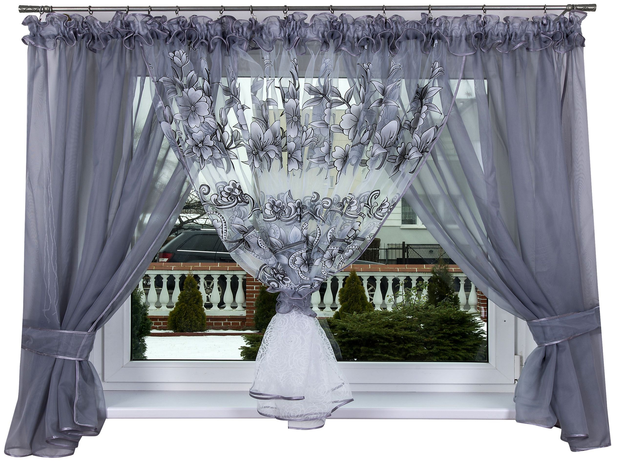 Готовая штора PERUGIA 500x150 VOILE Curtain SEE