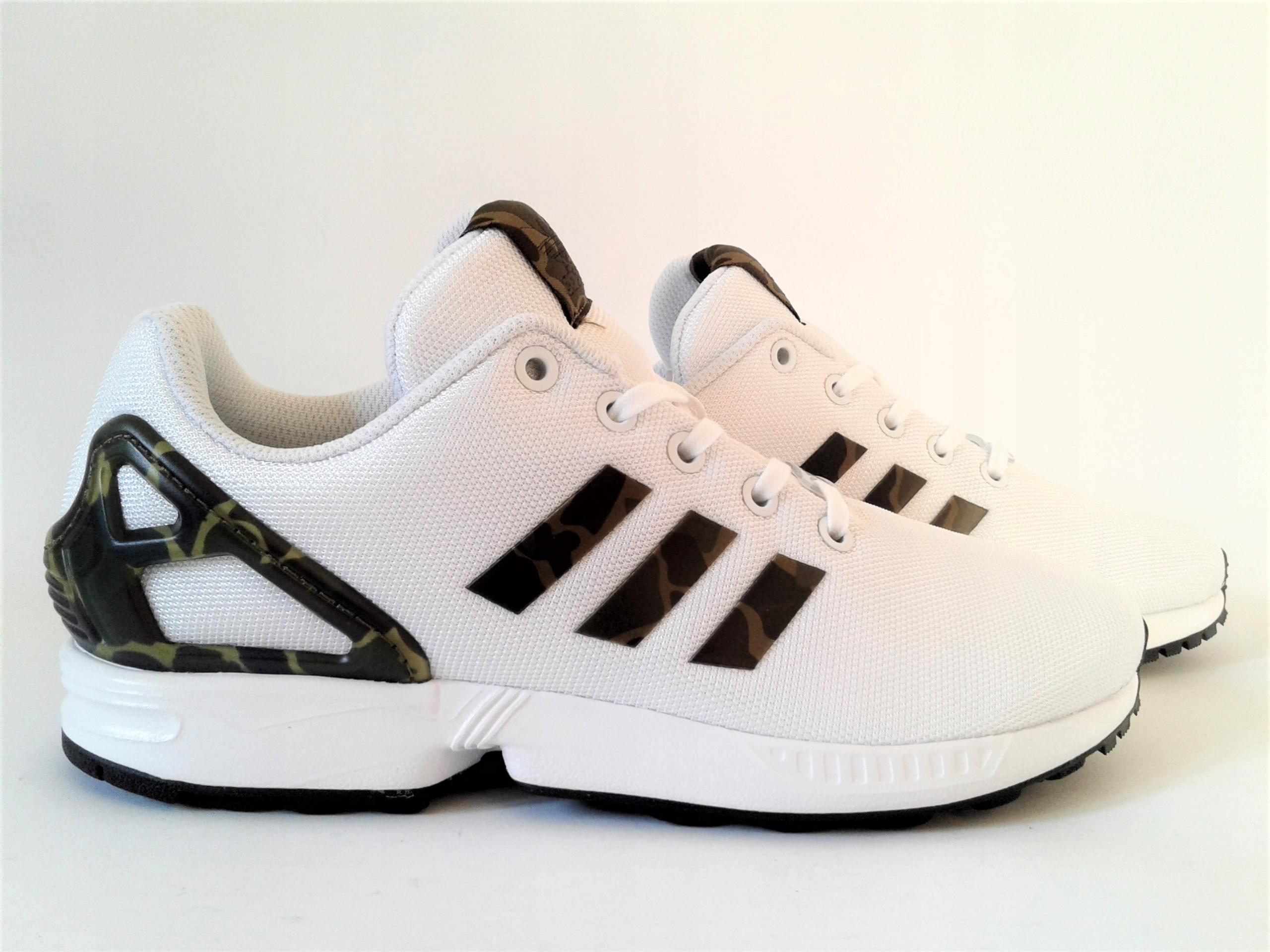 052ac422 Buty Adidas Zx Flux moro junior r.39 1/3 (25 cm) 7513344652 - Allegro.pl