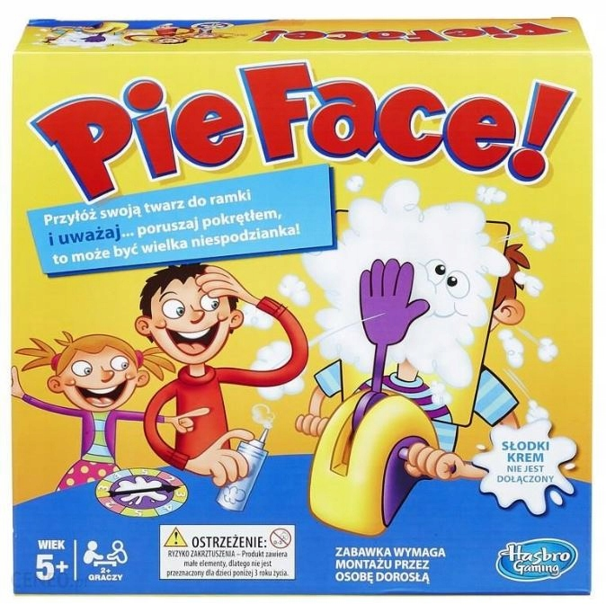 PIE FACE - CAKE IN FACE - GAME HASBRO - B7063