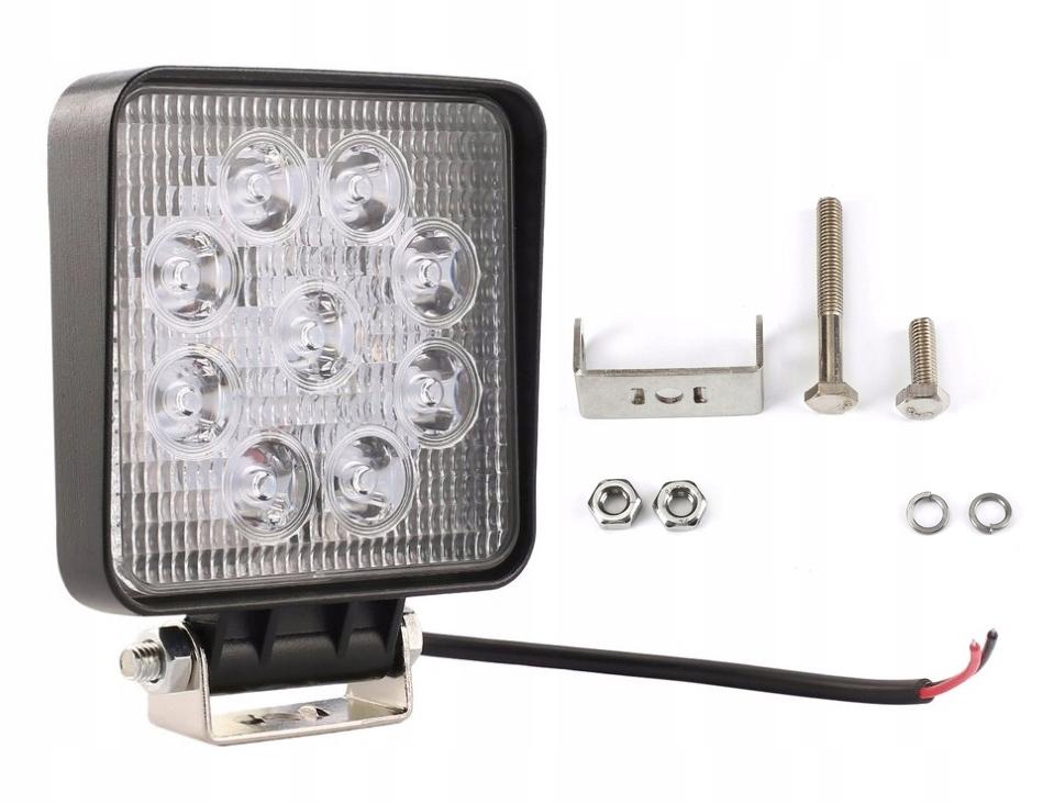 9 Светодиодный прожектор галогеновый прожектор 27W 12V 24V