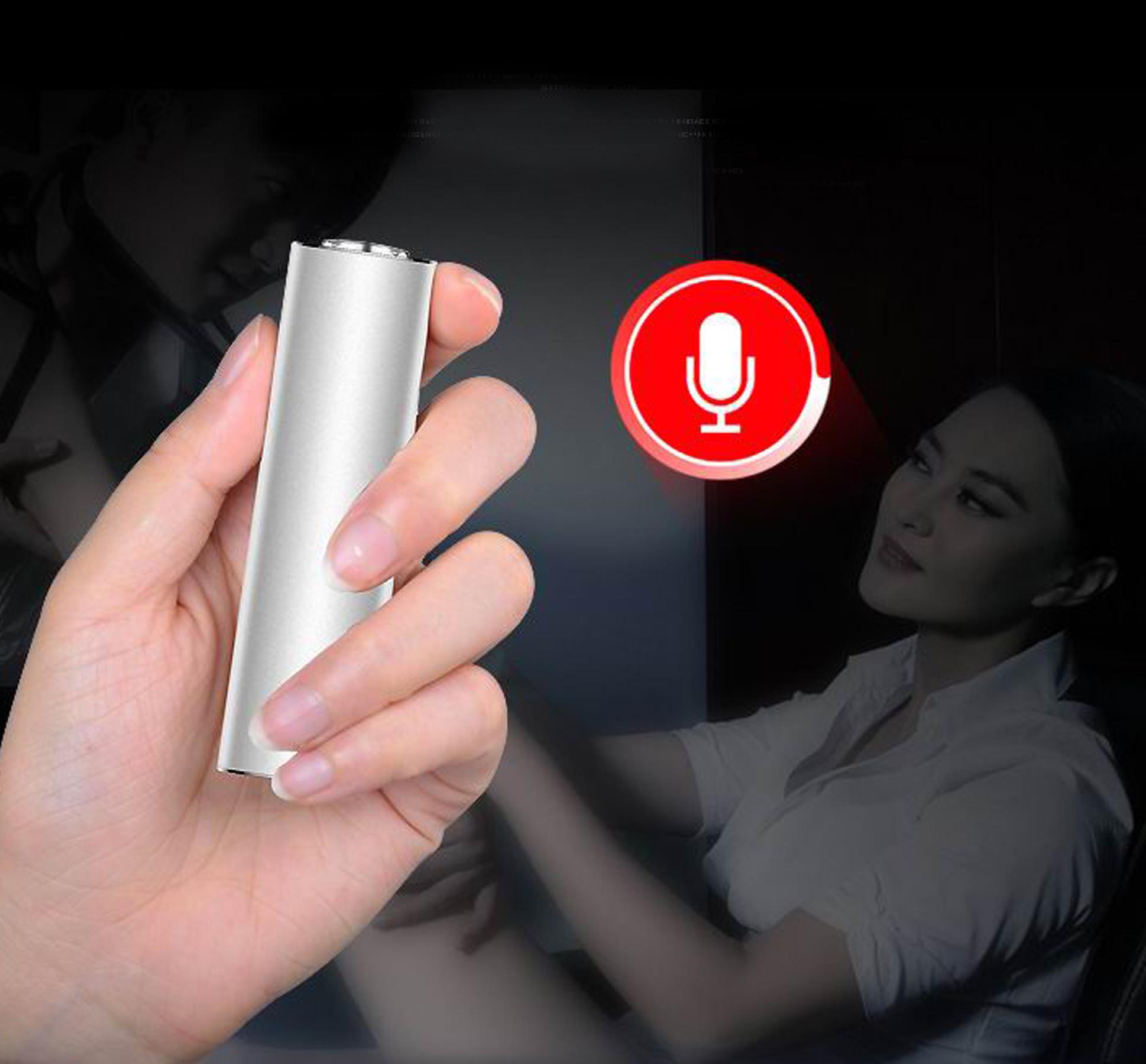 DYKTAFON CYFROWY 16GB VOX DETEKCJA RED.SZUMU 21DNI Obsługa kart pamięci nie